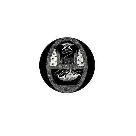 Butterfly Ballet Mini Button (10 pack)