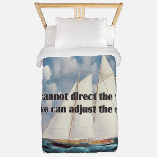 We Cannot Adjust the Wind Twin Duvet Cover