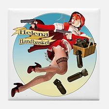 Helena Handbasket Tile Coaster