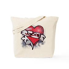 Jacob Black Tattoo Heart Tote Bag