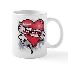 Jacob Black Tattoo Heart Mug