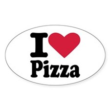 I love pizza Decal