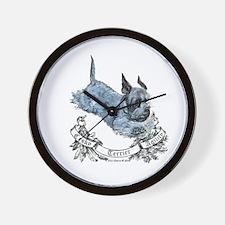 Cesky Agility Terrier Wall Clock