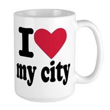 I love my city Mug