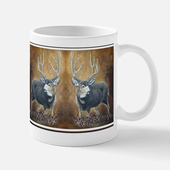 Deer oil painting Mug