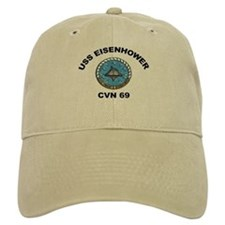 USS Eisenhower CVN 69 Baseball Cap