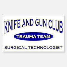 Knife & gun club (also light Decal