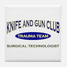 Knife & gun club (also light Tile Coaster