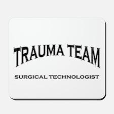 Trauma Team ST - black Mousepad