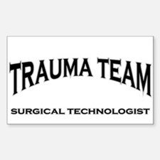 Trauma Team ST - black Decal