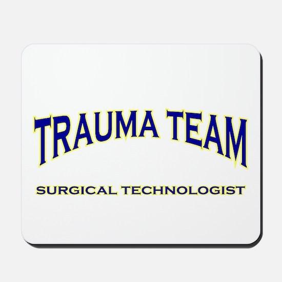 Trauma Team ST - blue Mousepad