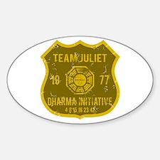 Team Juliet - Dharma 1977 Decal