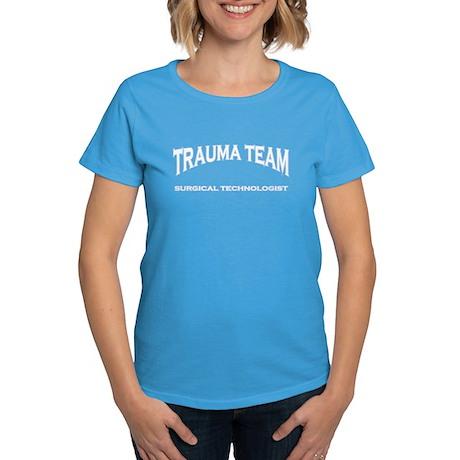 Trauma Team ST - white Women's Dark T-Shirt
