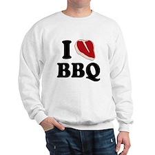 I Love BBQ Sweatshirt