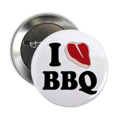 "I Love BBQ 2.25"" Button"