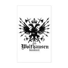 Von Wolfhausen Brewery Decal