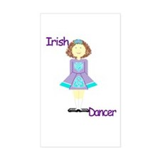 irishdancertee3 Decal