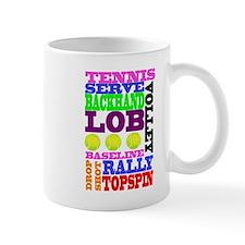 TENNIS SCRAMBLE Mug