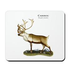 Caribou or Reindeer Mousepad