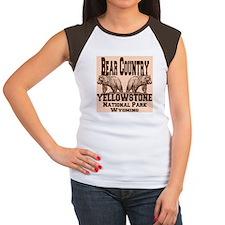 Bear Country Women's Cap Sleeve T-Shirt
