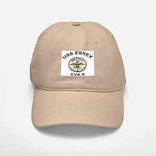 USS Essex CVA 9 Baseball Baseball Cap
