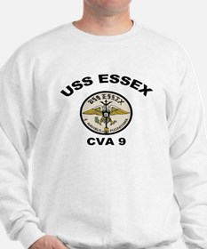 USS Essex CVA 9 Sweatshirt