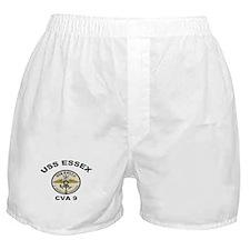 USS Essex CVA 9 Boxer Shorts