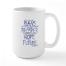 Jeremiah 29:11 Mug (large) Mugs