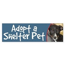AdoptShelterPet-Rhodesian Ridgeback Bumper Bumper Sticker