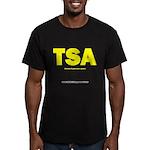 TSA: Tourism Suppression Agen Men's Fitted T-Shirt