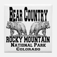 Bear Country Tile Coaster