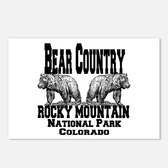 Bear Country Postcards (Package of 8)