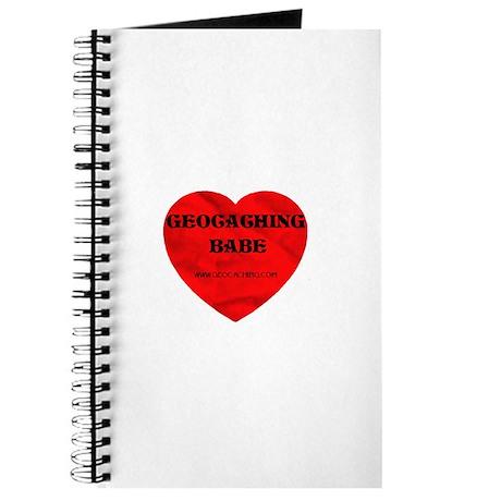 Geocaching Babe Journal