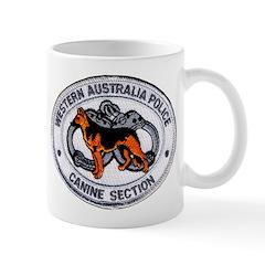 Western Australia Police K9 Mug