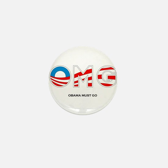 Obama Must Go Mini Button (10 pack)
