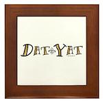 Dat Yat Framed Tile