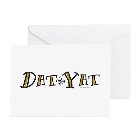 Dat Yat Greeting Cards (Pk of 10)