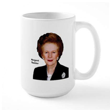 Lady Thatcher Large Mug