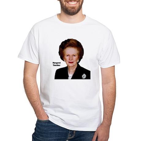 Lady Thatcher White T-Shirt