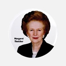 "Lady Thatcher 3.5"" Button"