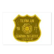 Team Jin - Dharma 1977 Postcards (Package of 8)