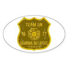 Team Jin - Dharma 1977 Bumper Stickers