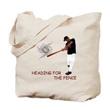 Heading for the Fence Tote Bag