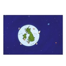 View of Earth From Space Postcards (Package of 8)