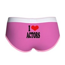 I Love Actors Women's Boy Brief