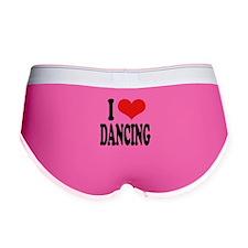 I Love Dancing Women's Boy Brief