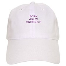 Born Again Buddhist purple Baseball Cap