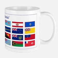 Continental Oceania Flags Mug