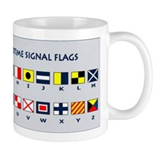 International Maritime Flag Signals Mug