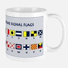 International Maritime Flag Signals Mug